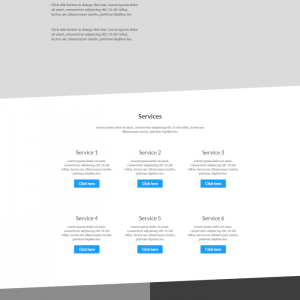 elementor financial consultant template